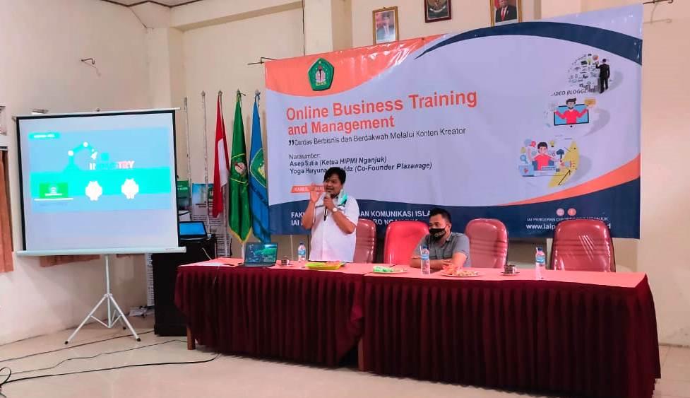 Pelatihan Online Training and Management FDKI