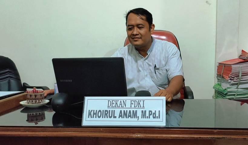 Khoirul Anam, M.Pd.I Dekan FDKI IAI Pangeran Diponegoro Nganjuk